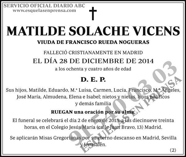 Matilde Solache Vicens